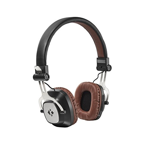 Kinbashi(TM) Foldable Bluetooth Headphones On-Ear Stereo Sound Headset with Built in Mic