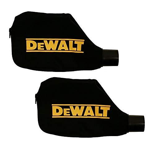 DEWALT N126162 Universal Miter Saw Dust Bag (2 Pack)