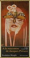 ポスター ジャック プレヴェール Papillon 1987 額装品 アルミ製ハイグレードフレーム(ゴールド)