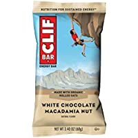 18-Count Clif White Chocolate Macadamia Nut Flavor Bar