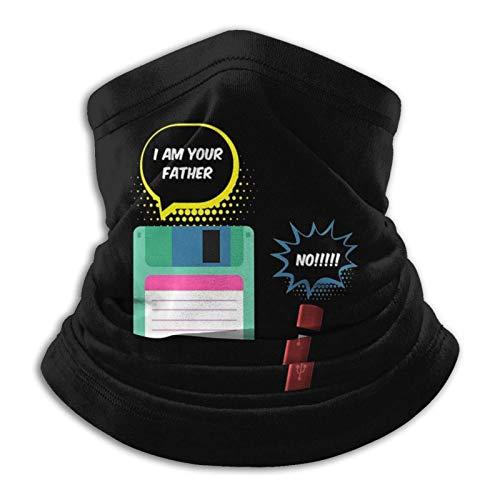IUBBKIch bin dein Vater - Diskette auf USB-Stick Unisex Nahtlose Bandanas Gesichtshals Gamasche Stirnband Schal