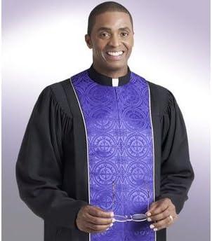 Religious Supply Vicar Pulpit Robe; Men's Sizes
