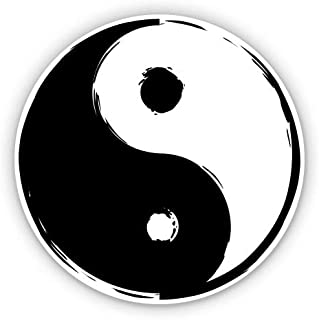 Amazon Com Yin Yang Sticker