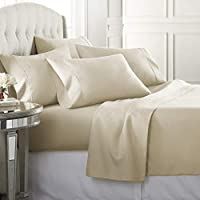 LIMITED TIME FREE BONUS: Our Luxury 4pc Sheet Set includes 1 BONUS PILLOWCASES free with purchase for a total of 2 Pillowcases! But the value doesn't stop there; unlike our competitors Our Fitted sheet is FULLY ELASTICIZED to ensure a secure fit with...