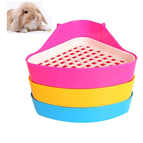 Giveme5 Small Animal Triangle Toilet Potty Trainer Pet Pee...