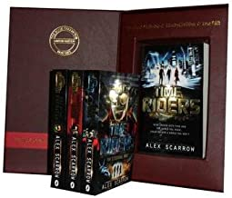 Alex Scarrow the Timeriders Collection: Timeriders, the Eternal War, the Doomsday Code, Day of the Predator