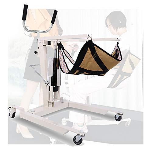 Enwebalay Rollstuhl Treppenlift, Treppenlift Innen Hydraulischer Schalthebel, Care Elite füR BettläGerige Patienten Personen, Belastbarkeit 120 Kg