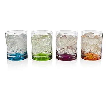 Libbey Impressions Colors 4-piece Rocks Glass Set