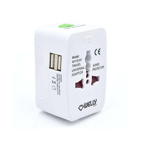 Welly-Enjoy-wy13101–Adaptateur-de-voyage-compact-universel-avec-2-ports-USB-5-V1000mA-blanc