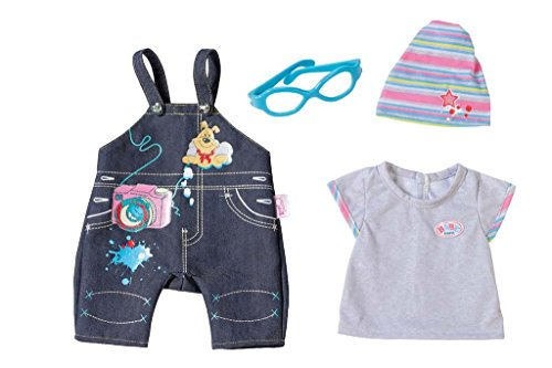 Zapf Creation 822210 - Baby Born Deluxe Jeans Kollektion, Sortiert