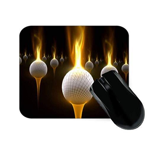 Feuer Golfbälle Elegantes Mauspad