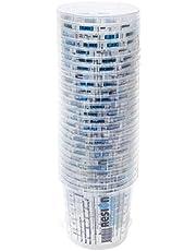 RESION 25 vasos de mezcla de pintura, 650 ml, pintura, epoxi, poliéster, con una relación de mezcla clara en el vaso medidor.