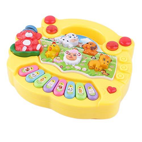 Ballylelly Buntes Baby-Kind-Musical Educational Piano Animal Farm Muster Developmental Musik-Spielzeug-Kinder für Geburtstags-Geschenk
