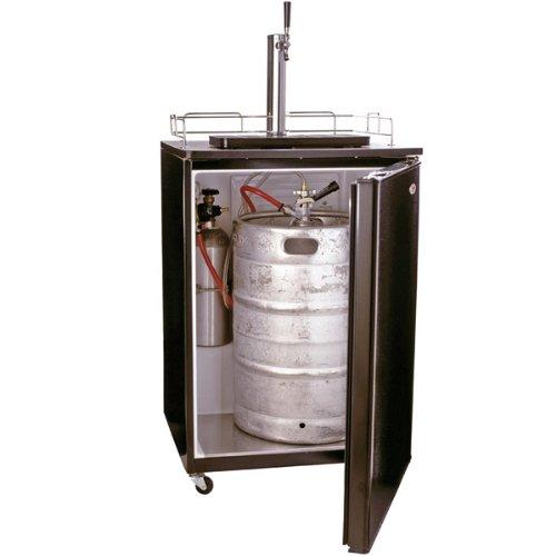 Black BrewMaster Beer Kegerator