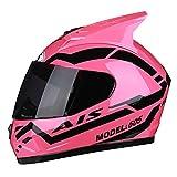 Adultos Cara Completa Casco de Motocicleta Lentes Anti Niebla Hombres Mujeres Universal Racing Protección Gorras Profesional Al Aire Libre Fuera de Carretera Cascos de Motos Extremos