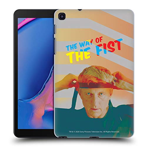 Official Cobra Kai The Way Of The Fist Graphics 2 Hard Back Case Compatible for Galaxy Tab A 8.0 & S Pen 2019