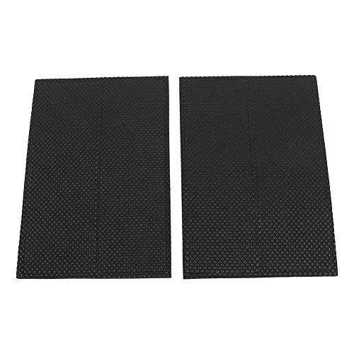 Almohadillas de goma para los pies, 4 piezas, negras, antideslizantes, autoadhesivas, protectores de suelo, muebles, sofá, silla de escritorio, almohadillas para los pies de goma