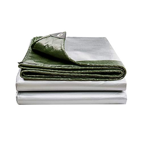 NAN Waterproof Tarpaulin Tarps -PE Oil Cloth-outdoor Tents Waterproof And UV Protected 180g/m² 0.35mmthick (19 Sizes) (Size : 6×7m)