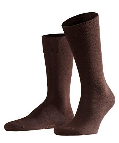 FALKE Herren Socken Sensitive London - 94% Baumwolle, 1 Paar, Braun (Brown 5930), Größe: 43-46