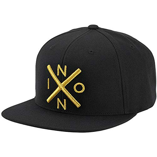 Nixon Exchange Snapback Hat Black/Gold One Size