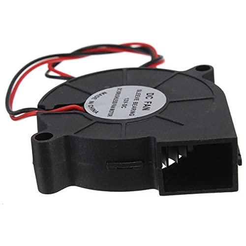 OverTop 5 unids impresora 3D 12V DC 50mm* 50mm soplar ventilador de refrigeración radial