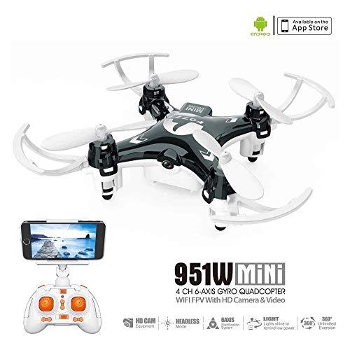 Hammer Drone GPS con cámara en directo de vídeo HD RC QuadCopter aviones no tripulados con la cámara de Follow Me modo, el mantenimiento de altitud, control de rango largo, GPS retorno automático Inic
