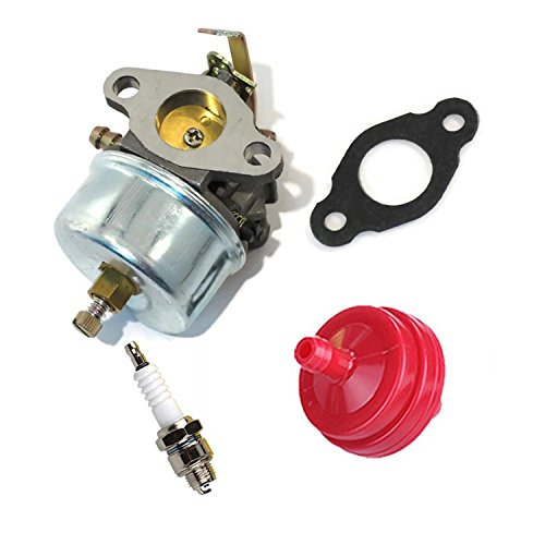 OxoxO carbure Tor Carb Kit with Fule Filtro Gasket Spark Plug for Tecumseh H30H50H60HH60Engines Replace 632230632272