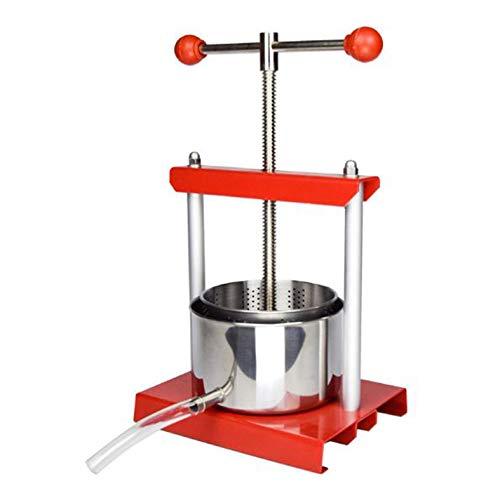 Inicio Cocina creativa DIY prensa filtro de vino frutas verduras queso prensa jugo 2L/3L/6L (2L)