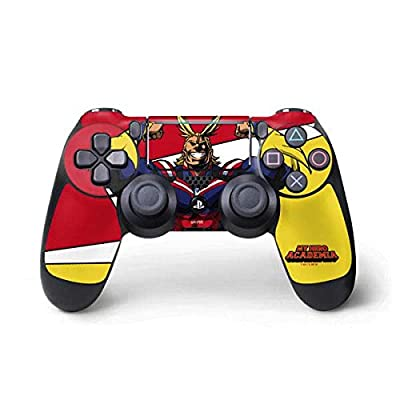 Skinit Decal Gaming Skin for PS4 Pro/Slim Controller - Officially Licensed Funimation All Might Design