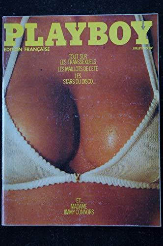 PLAYBOY 068 JUILLET 1979 INTERVIEW WENDY CARLOS AMANDA LEAR ENTIEREMENT NUE PATTI Mc GUIRE Mme CONNORS