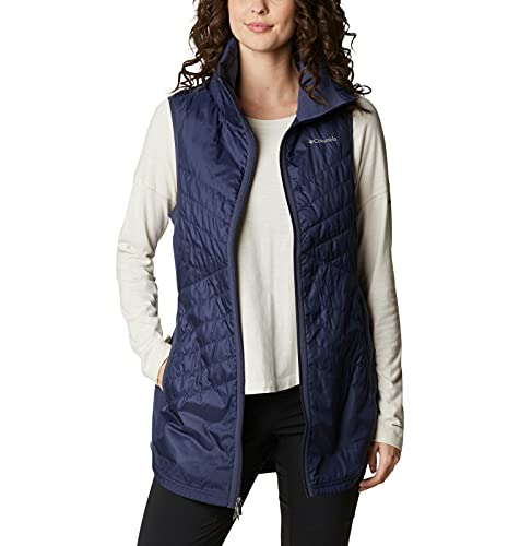 Columbia Women's Mix It Around Long Vest, Nocturnal, Large