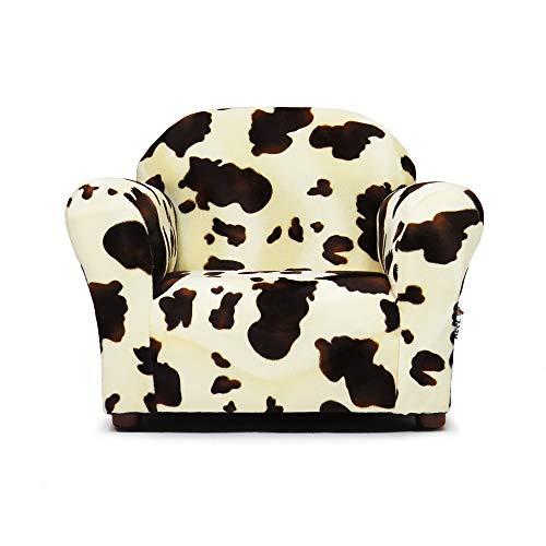 Keet Roundy Faux Fur Children's Chair