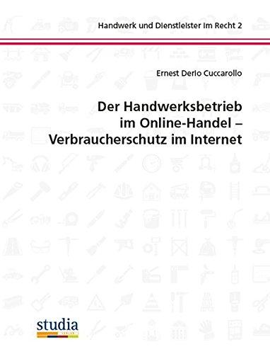 Handwerksbetrieb im Online-Handel - Verbraucherschutz im Internet