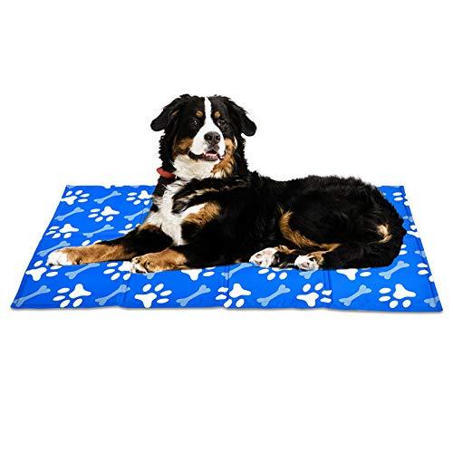 XIAPIA Tappetino Refrigerante per Cani, Auto-Raffreddamento, Gel Non tossico, Perfetto per Cani e Gatti in Estate (XL)