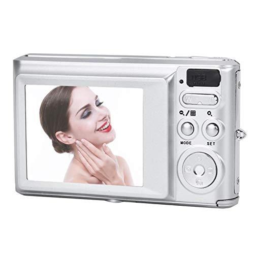 DAUERHAFT Mini cámara de vídeo con Cable USB portátil, para Acampar, para Regalo(Silver)