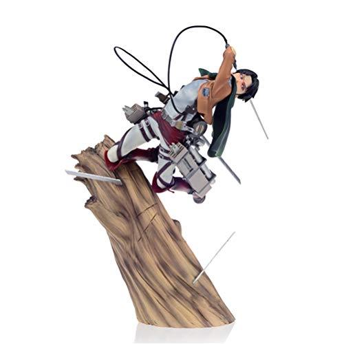 Olaffi Attack on Titan Master Stars Piece 9.8' Eren Yeager Action Figure 3D Maneuver Gear