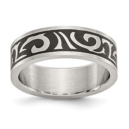 Ring, Edelstahl, poliert, verstellbar, nautisches Schiff, Mariner, Anker, Schmuck, Geschenke für Frauen