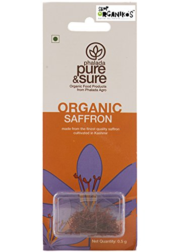 Pure and Sure Organic Kesar (Saffron) (0.5 gm)