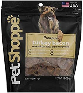 PetShoppe Premium Turkey Bacon 12 oz, 2 qty