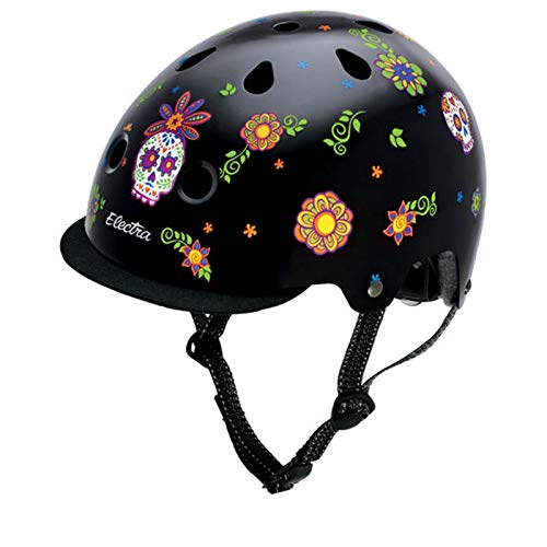 Electra Bicycle Electra Fahrradhelm Solid Attitude Fashion, Sugarskulls, S, EHelm