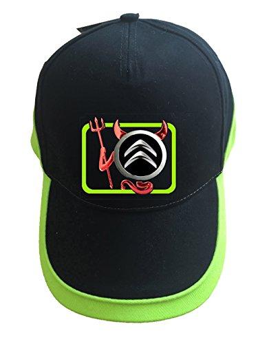 molda18 Citroen Logo Baseball Cap Mütze-K007-SW-Grun