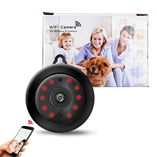 WiFi Wireless Home Security HD Video Camera/Dome Camera/Night Vision/Home IP Camera/Motion Detection/Security Surveillance System/Mini Size, iOS/Android App - Cloud Service Available