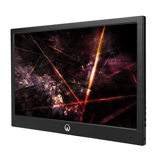 2K Gaming-monitor, 13,3 inch draagbare ultradunne HD IPS-scherm, gaming monitor, ingebouwde 3D-surround-sound voor PS4, voor Xbox, voor Switch