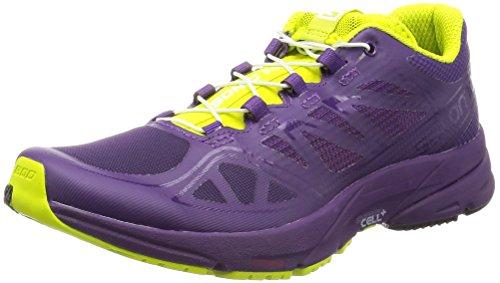 Salomon L37917300, Zapatillas de Trail Running para Mujer, Morado (Cosmic Purple/Cosmic Purple/Gecko G), 40 EU