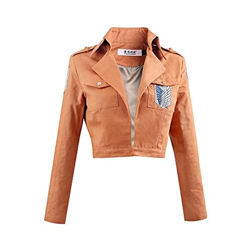 Shingeki No Kyojin Jacket Halloween Fashion Cloak Cape Hooded Jacket...