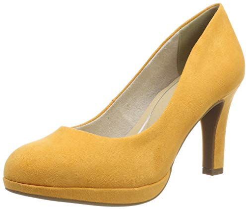 Marco Tozzi 2-2-22417-22, Zapatos con Plataforma para Mujer, Naranja (Mango 637), 41 EU