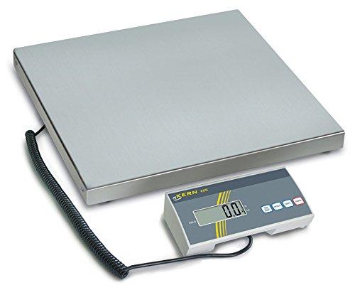 Balanza de paquetes y veterinarias con plataforma grande [Kern EOB 60K20L], Campo de pesaje [Max]: 60 kg, Lectura [d]: 20 g