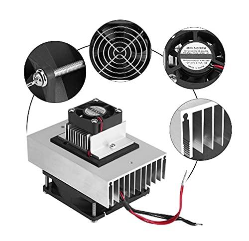 YEZIO DIY Kit, 12V Cooling System Kit, Semiconductor 72W Cooling System, Micro Air Conditioning Cooling Module