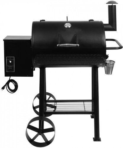 Barbecue El Fuego Smoker Gartengrill Holzkohlegrill BBQ Grillwagen Räucherofen