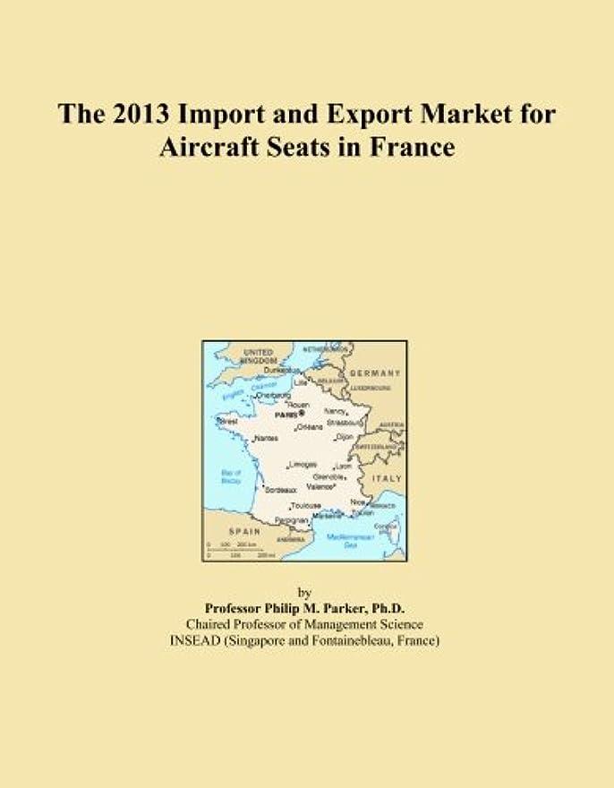 マーキー動ロールThe 2013 Import and Export Market for Aircraft Seats in France